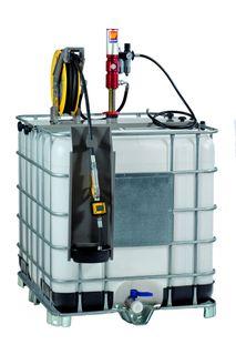 Meclube Oil Set IBC c/w 3/8 x 10mtr reel, 3:1 pump and digital meter