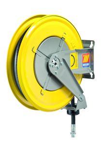Meclube 160 bar Oil spring rewind hose reel 1/2 x 15mtr