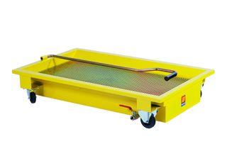 Meclube 120L Wheeled Oil Rolling Floor Drain