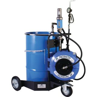 MACNAUGHT 205LTR TROLLEY OIL SYSTEM