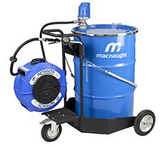 MACNAUGHT 205LTR TROLLEY OIL SYSTEM-INCL