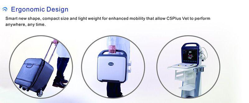 C5PlusVet Ergonomic designs