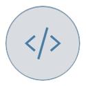 Code brackets symbol