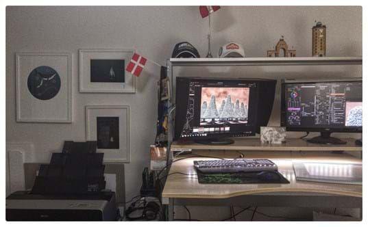 Eizo Monitors in Study