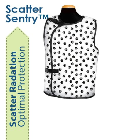 Bar-Ray Standard Vest with Buckle Closure Female - Scatter Sentry
