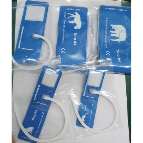 BMV NIBP Cuff for Veterinary Use - Set of 5