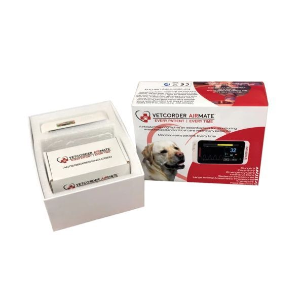 MAI Bundle - Sentier Vetcorder™ Classic Portable Patient Monitor with Vetcorder™ AirMate™ Capnograph