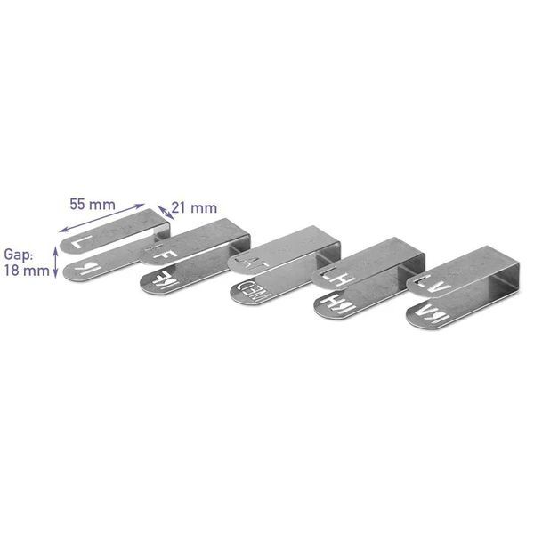 Podoblock X-Ray Marker Clip or individual pair - L / R