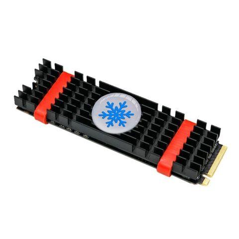 Aluminium Alloy PCIe NVMe M.2 SSD Heatsink Laptop Memory Cooling Fin Radiator
