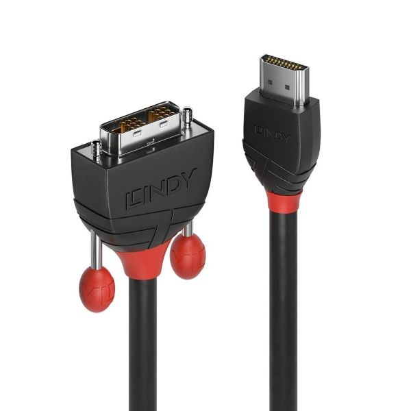 HDMI to DVI-D Cable, M/M, 0.5m
