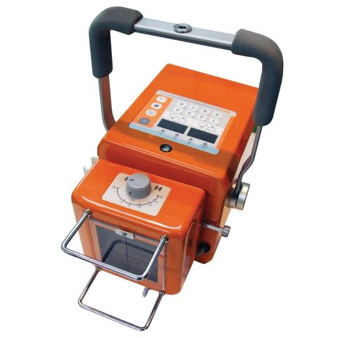 EcoRay Orange 1060HF Portable X-Ray Generator with Skin Guards for Medical Use
