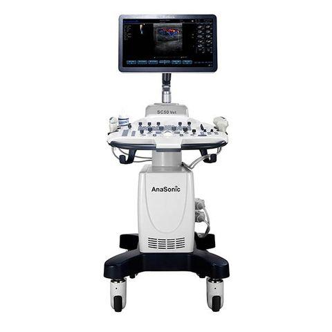 AnaSonic SC50 Vet Trolley Colour Doppler Ultrasound System