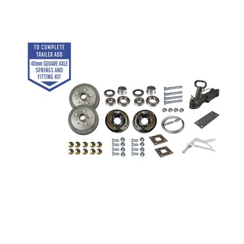 Trailer Kit - Comm Mechanical Brakes LM