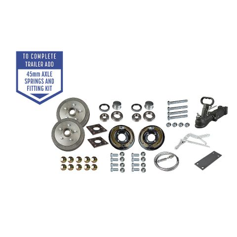 Trailer Kit - Comm Mechanical Brakes SLM
