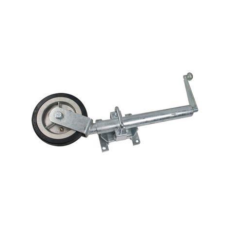 Jockey Wheel 10in 2T Solid w/Swivel