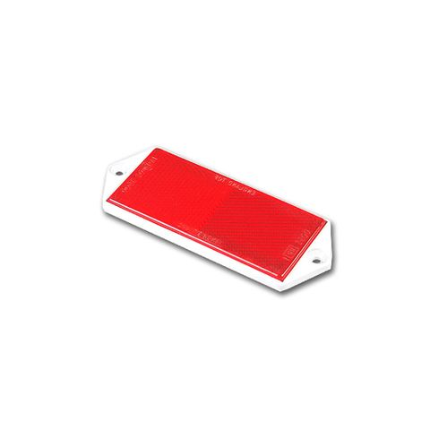 Reflector Red Screw On 100x45mm