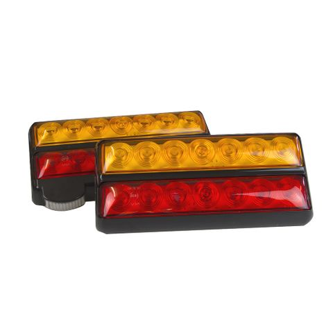 LED Stop/Tail/Ind/NP 200x113mm
