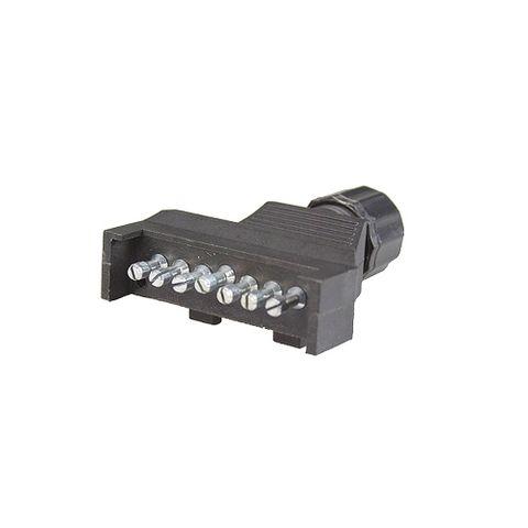Plug 7Pin Plastic Flat