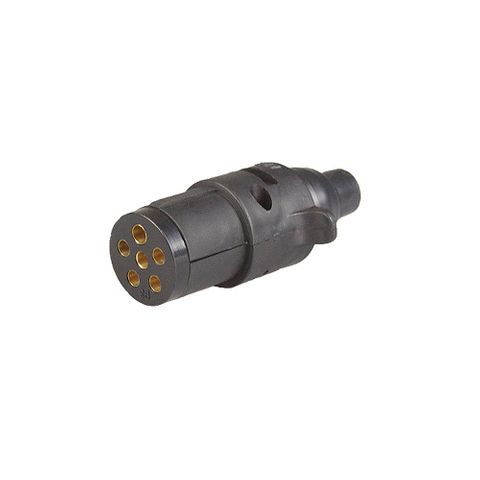 Plug 6Pin small Round Plastic