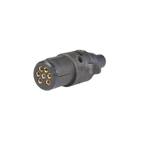 Plug 7Pin small Round Plastic
