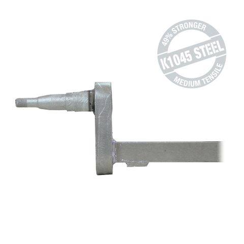 Drop Axle 50 Square 40mm 4in