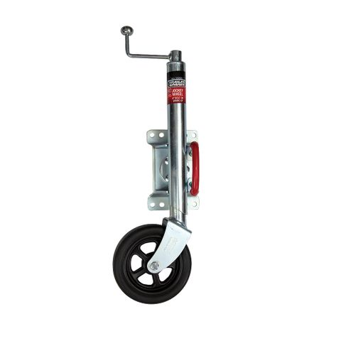 J/W 8in Swivel w/Ubolt Clamp 750kg HD