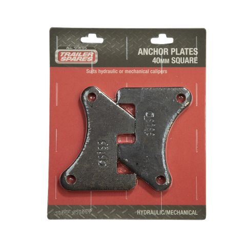 Anchor Plate 40mm Square x2