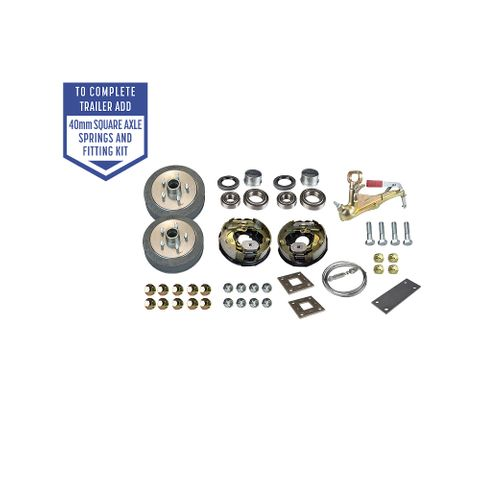 Trailer Kit - Comm Electric Brakes LM