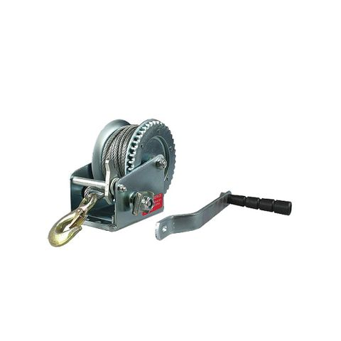 Winch 4:1 with Cable Snap Hook 400kg