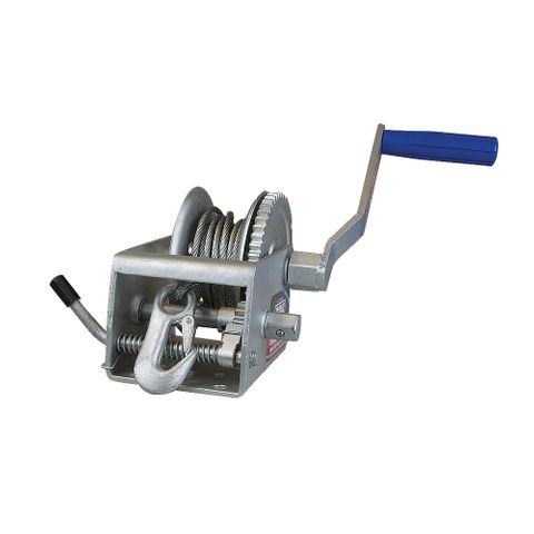 Winch 5:1/1:1 with Cable Snap hk 800Kg
