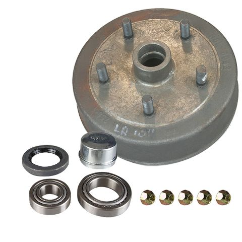 Hub Drum 10in - L/Rover(5x165) LM