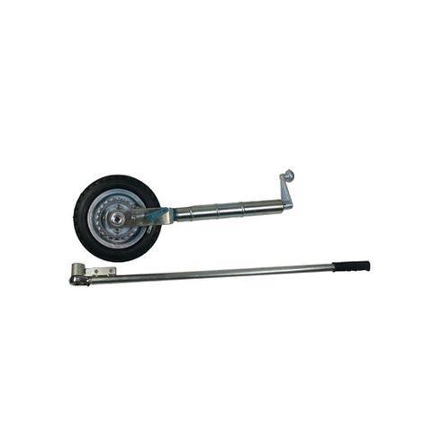 Jockey Wheel 10in Ratchet Drive Solid