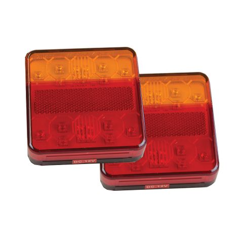 LED Light Combo with N/Plate (Pair)
