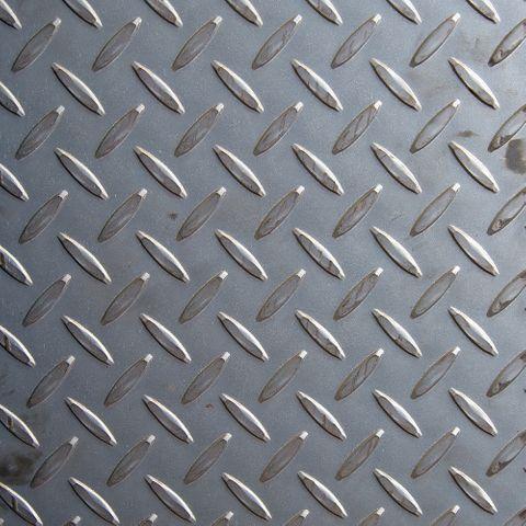 8X4 Checker Plate Floor 2.1mm