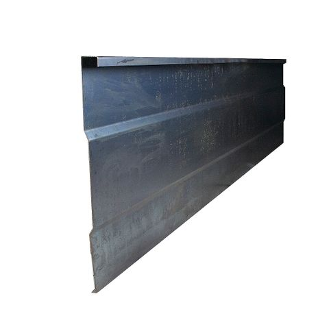 Side Rib Blk 2400x520x1.5mm