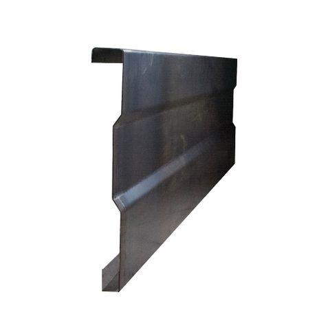 Tailgate Rib Blk 1850x230x1.5mm