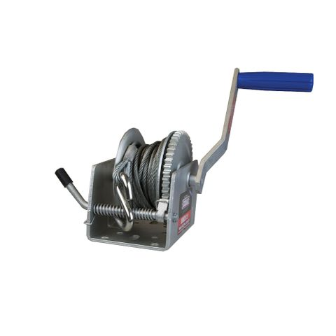 Winch 1:1 with Cable S Hook 300Kg