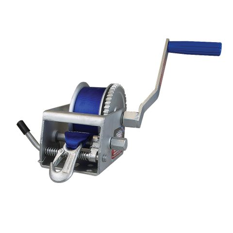 Winch 5:1/1:1 with Strap Snap hk 800Kg