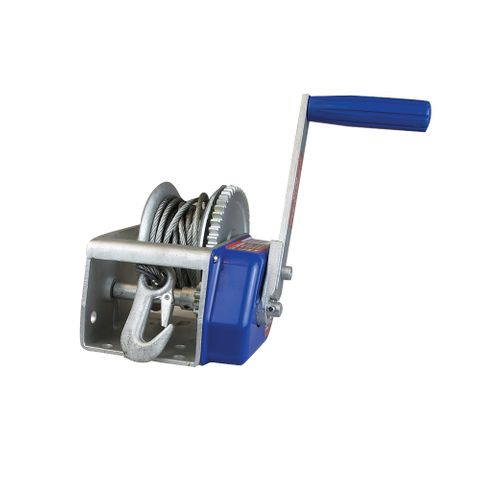 Winch 10:1 Braked Cable Snap Hook 500kg