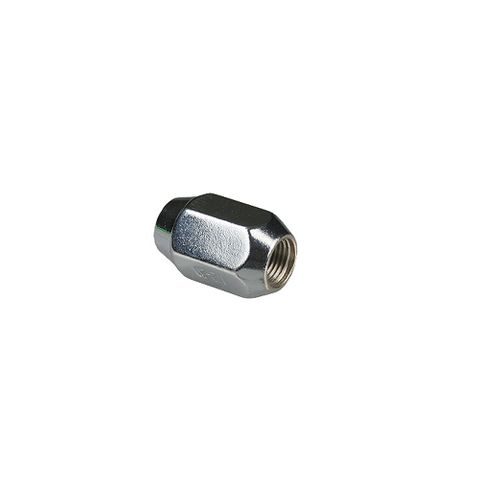 Chrome Wheel Nut 1/2in