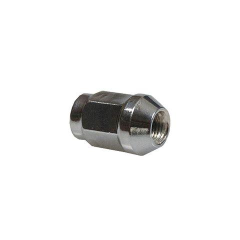 Chrome Wheel Nut 7/16in