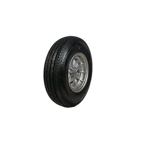 Rim & Tyre 10in Alloy Velox Brg Mt
