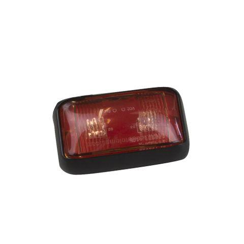 LED Red Clearance Light 12/24V