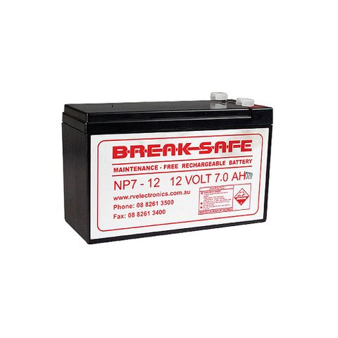 Battery Replacement 12V Breaksafe