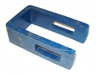 """CLAMP 1 1/4"""" TINE TO 100mm BAR"""
