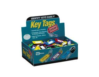 ID KEY TAG W/RING ASTD 200/BOX