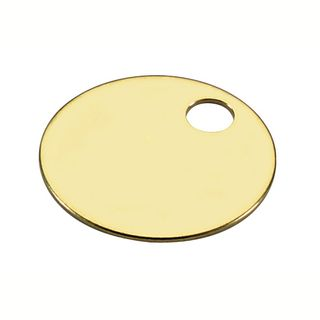 BRASS TAG 1in  - SPECIAL