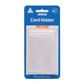 KEVRON CARD HOLDER CLEAR