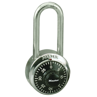 MASTER PADLOCK COMBINATION DIAL (LONG SHACKLE) - SPECIAL