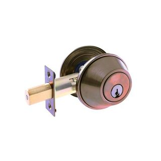COMMERCIAL DEADBOLT CYL & TURN 6P AB BOXED
